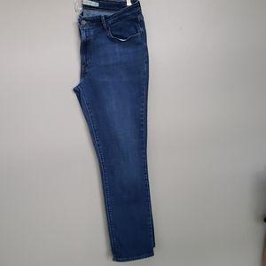 Levi's mid rise skinny jeans sz 16